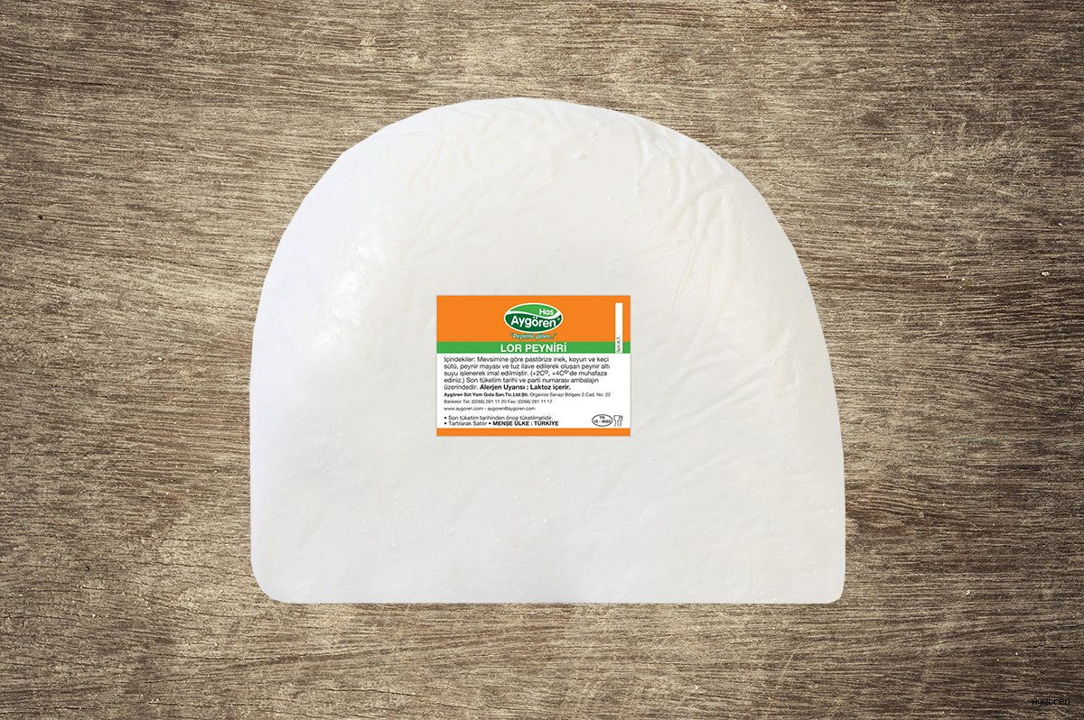 Lor Peyniri Topak