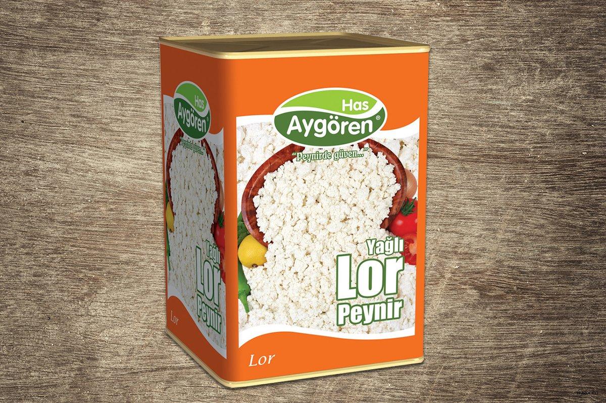 Lor Peyniri Yağlı 18kg