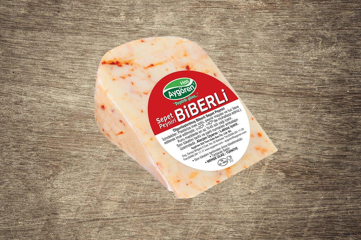 Sepet Peyniri Biberli