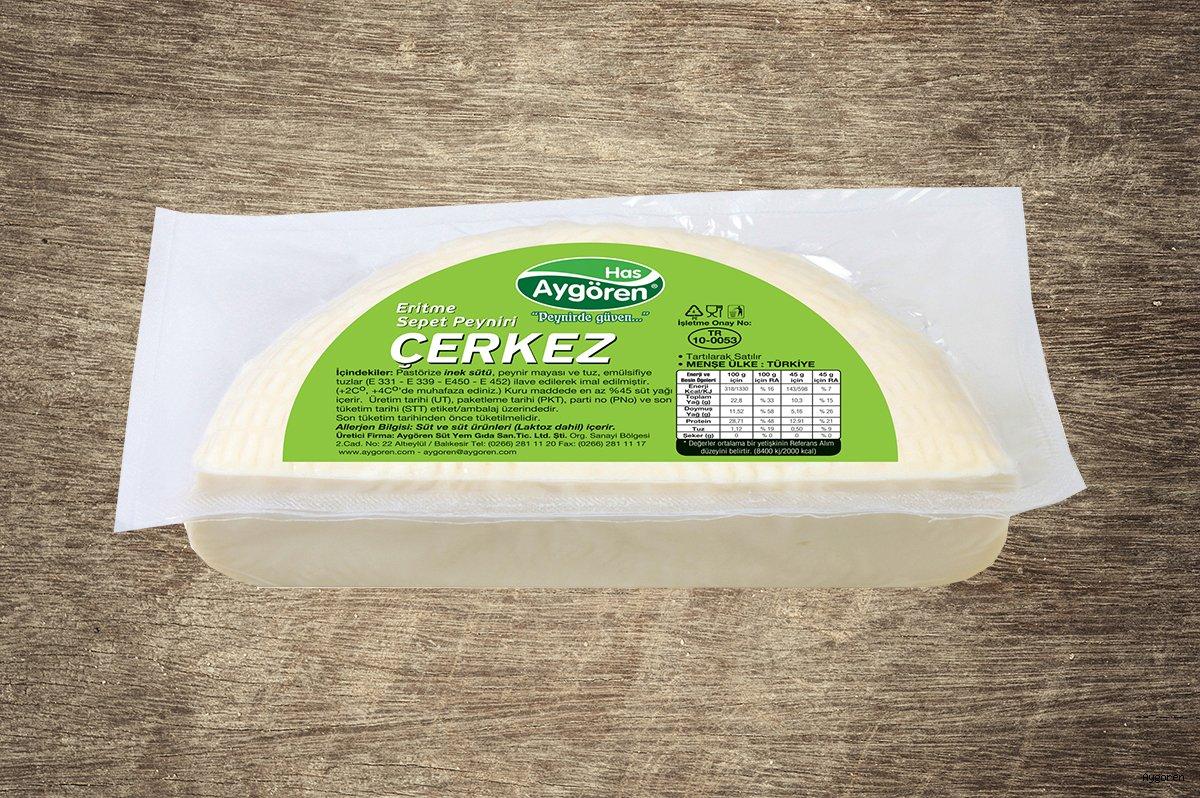 Sepet Peyniri Eritme Çerkez