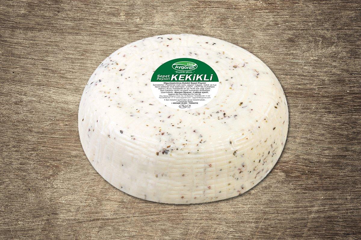 Sepet Peyniri Kekikli Teker